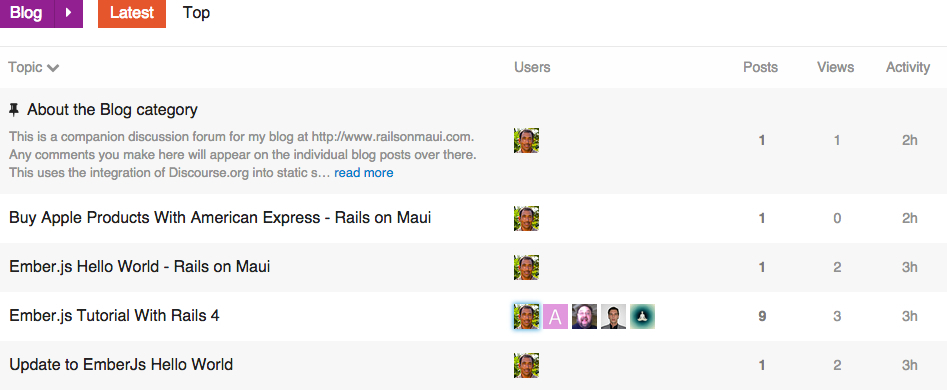 Updating My Blog to Octopress With Jekyll 2 and Discourse
